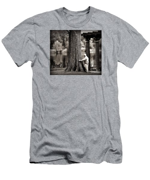 One With Tree Men's T-Shirt (Athletic Fit)