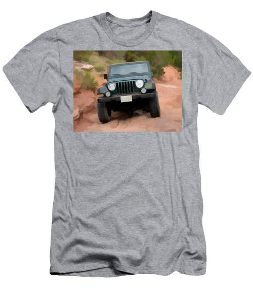 Only Jeeps Here Men's T-Shirt (Athletic Fit)