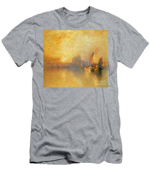 Opalescent Venice Men's T-Shirt (Athletic Fit)