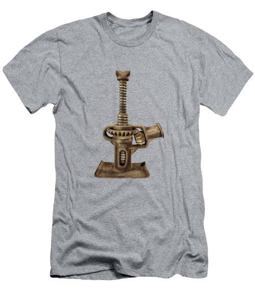 Open Gear Screw Jack I Men's T-Shirt (Athletic Fit)