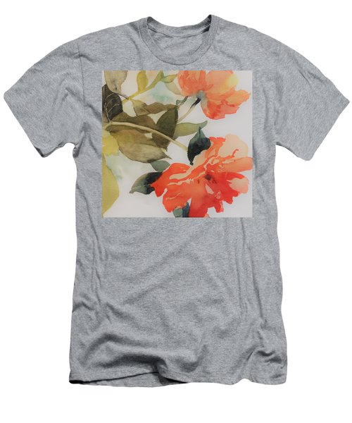Orange Blossom Special Men's T-Shirt (Slim Fit) by Elizabeth Carr