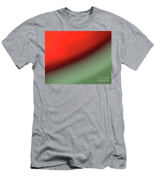 Orange Red Green Men's T-Shirt (Athletic Fit)