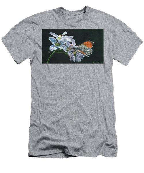 Orange Tip  Men's T-Shirt (Athletic Fit)