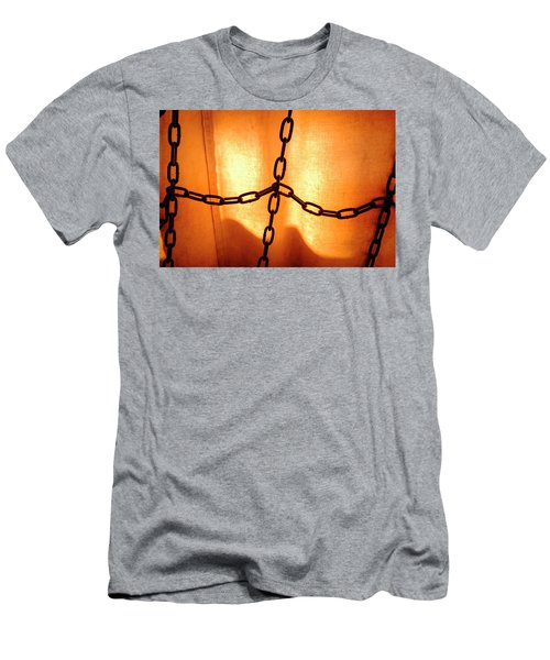 Orange With Black Chains In Seattle Washington Men's T-Shirt (Athletic Fit)