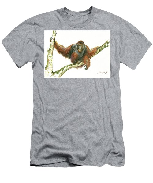 Orangutang Men's T-Shirt (Athletic Fit)