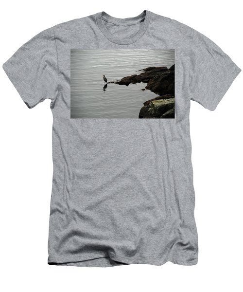 Orcas Island Bird  Men's T-Shirt (Athletic Fit)