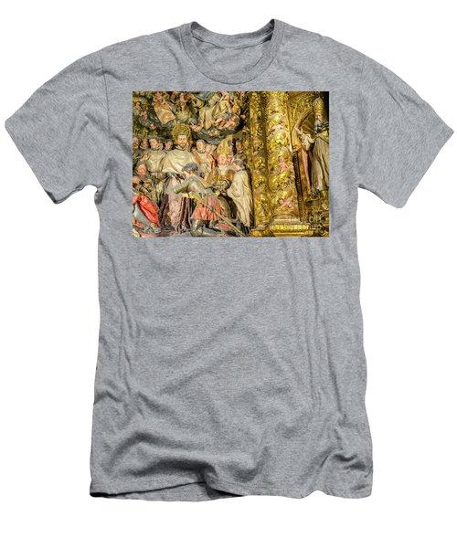 Ornate Gold Guilded Altar Men's T-Shirt (Athletic Fit)
