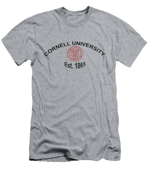 Men's T-Shirt (Slim Fit) featuring the digital art ornell University Est 1865 by Movie Poster Prints
