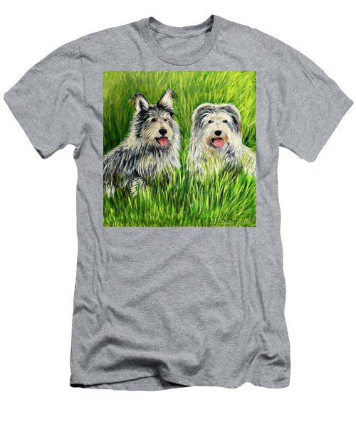Oskar And Reggie Men's T-Shirt (Athletic Fit)