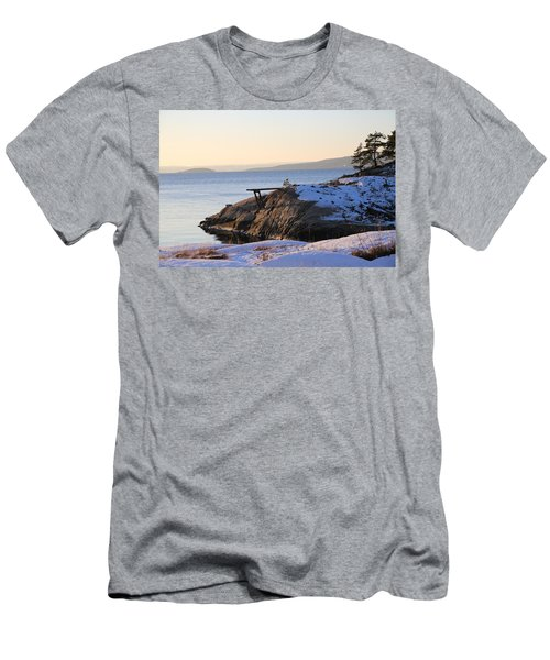 Oslo Fjords, Norway  Men's T-Shirt (Athletic Fit)