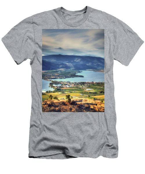 Osoyoos Lake 2 Men's T-Shirt (Slim Fit) by Tara Turner