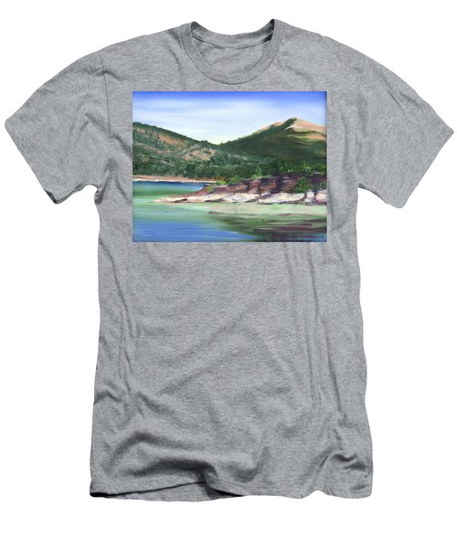 Osprey Island Flaming Gorge Men's T-Shirt (Athletic Fit)