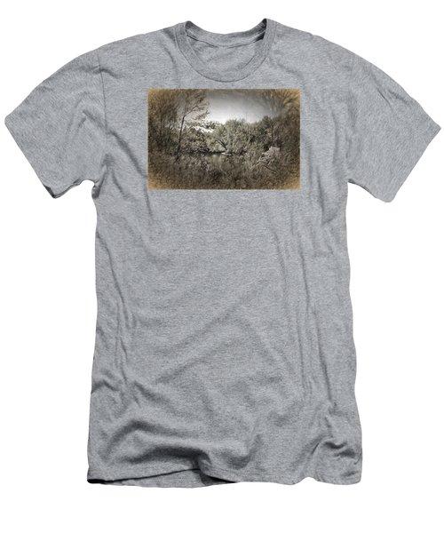 Otter Creek  Men's T-Shirt (Slim Fit) by Rena Trepanier