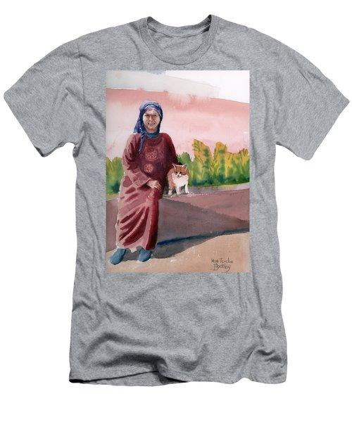 Oum  Men's T-Shirt (Athletic Fit)