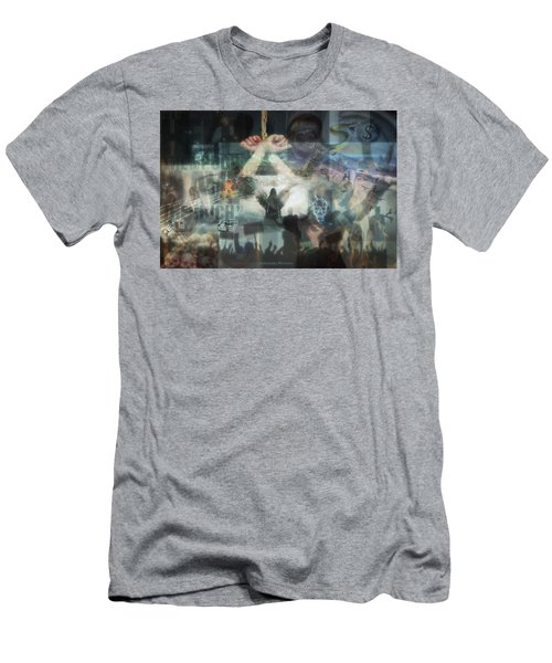 Our Monetary System  Men's T-Shirt (Slim Fit) by Eskemida Pictures