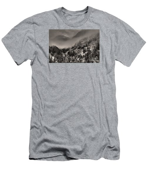 Ouray In Chinese Brush IIi Men's T-Shirt (Slim Fit) by William Fields
