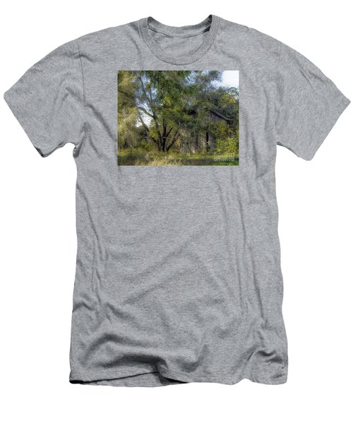 Out In The Back 40 Men's T-Shirt (Slim Fit) by JRP Photography