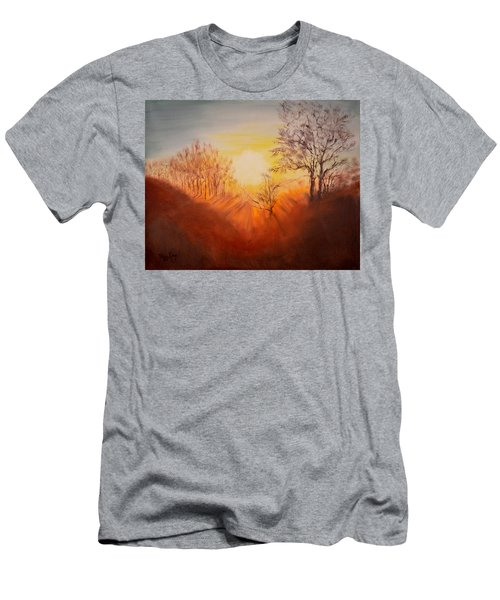 Out Of The Winter Morning Mists - 2 Men's T-Shirt (Athletic Fit)