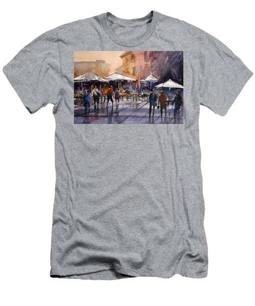 Outdoor Market - Rome Men's T-Shirt (Athletic Fit)