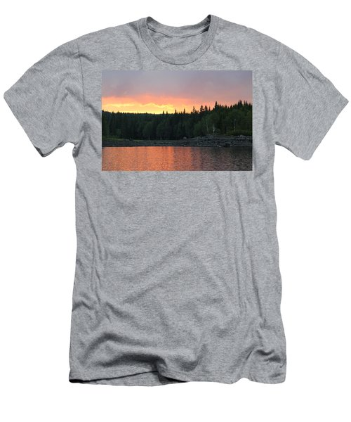 Outdoors In Norway.  Men's T-Shirt (Athletic Fit)