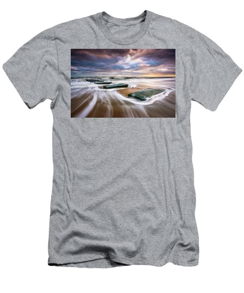 Outer Banks North Carolina Beach Sunrise Seascape Photography Obx Nags Head Nc Men's T-Shirt (Athletic Fit)