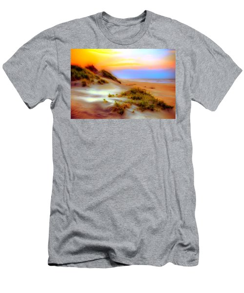 Outer Banks Soft Dune Sunrise Ap Men's T-Shirt (Athletic Fit)