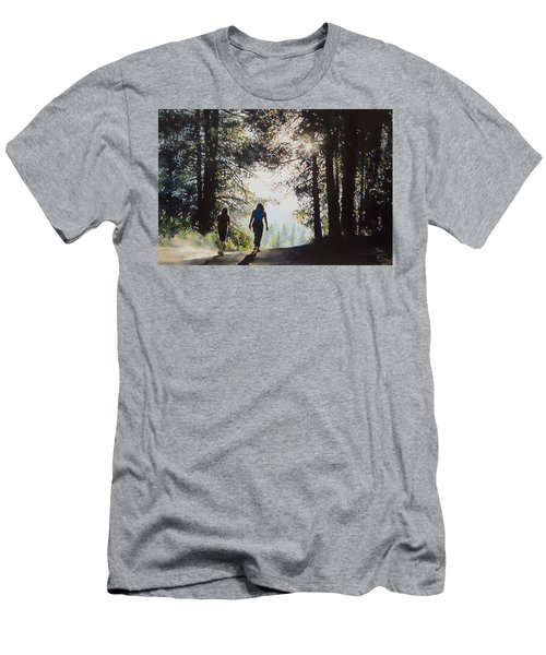 Over The Hills Men's T-Shirt (Athletic Fit)