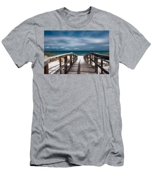 Over The Sand Men's T-Shirt (Athletic Fit)