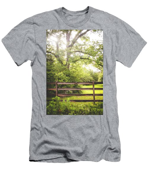Men's T-Shirt (Slim Fit) featuring the photograph Overgrown by Shelby Young