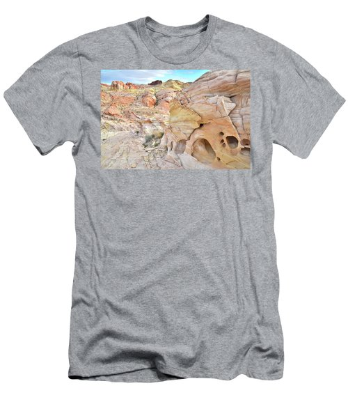 Overlooking Wash 5 In Valley Of Fire Men's T-Shirt (Athletic Fit)