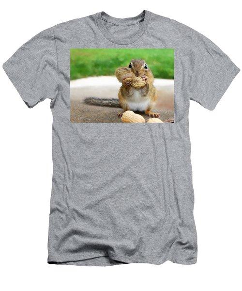 Overstuffed Men's T-Shirt (Slim Fit) by Lori Deiter
