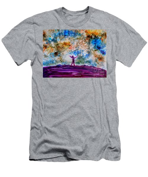 Overwhelmed Men's T-Shirt (Athletic Fit)