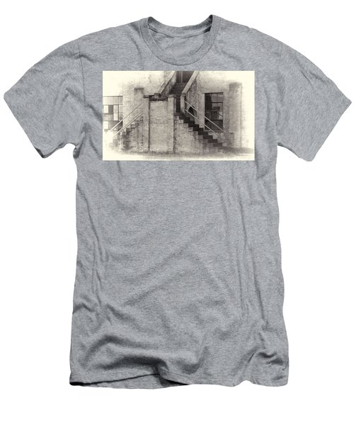 Owens Field Historic Curtiss-wright Hangar Men's T-Shirt (Athletic Fit)