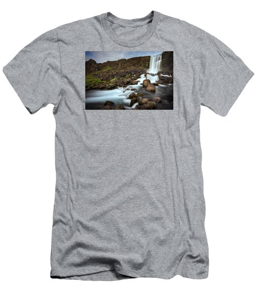 Oxararfoss Men's T-Shirt (Athletic Fit)