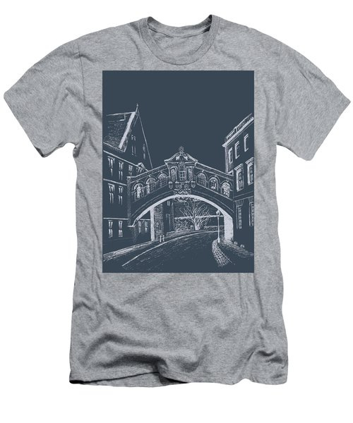 Oxford At Night Men's T-Shirt (Athletic Fit)