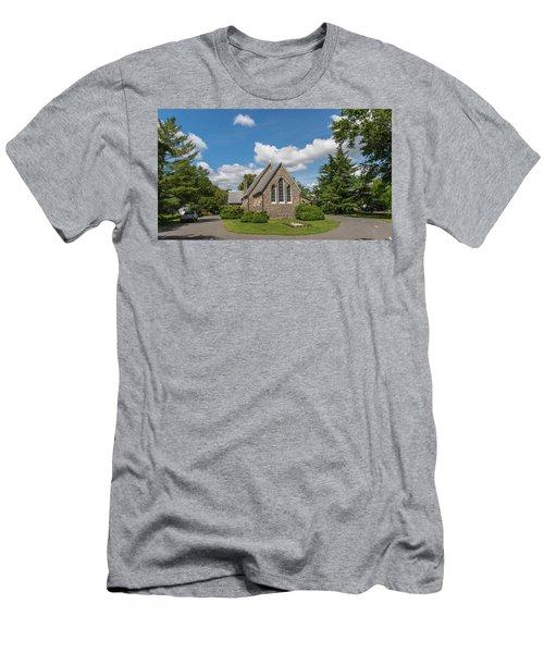 Oxford Church Men's T-Shirt (Athletic Fit)
