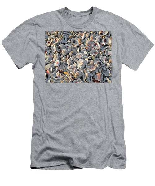Oysters Shells Men's T-Shirt (Athletic Fit)