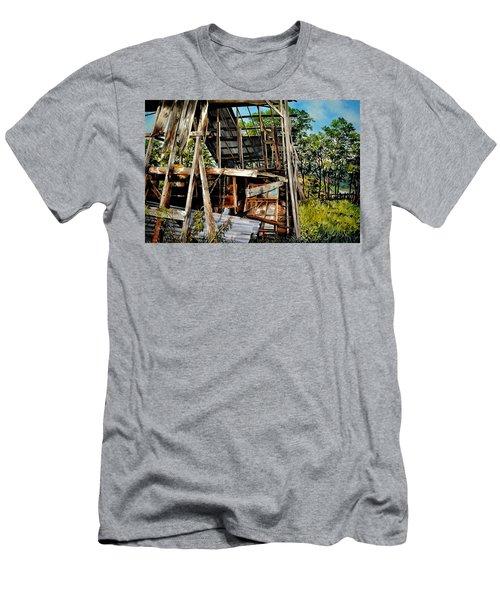 Ozark Barn Men's T-Shirt (Athletic Fit)