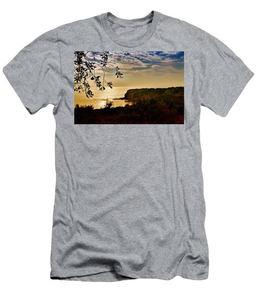 Men's T-Shirt (Slim Fit) featuring the photograph Pacific Cove Paradise by Joseph Hollingsworth