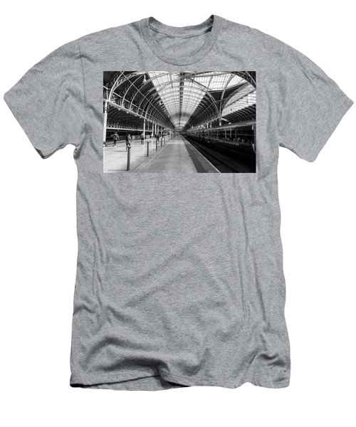 Paddington Station Men's T-Shirt (Athletic Fit)