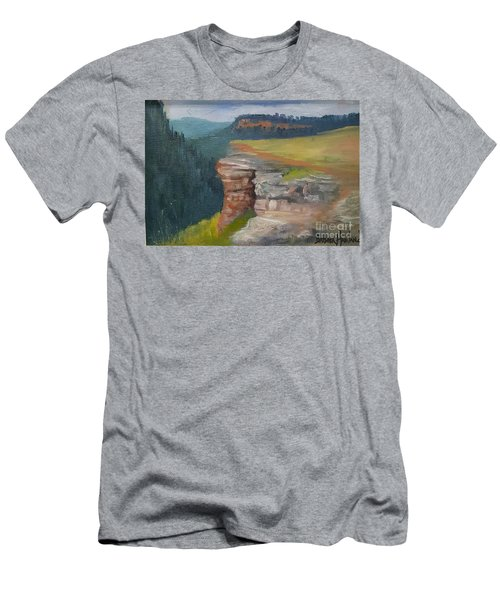Pagosa Springs View Men's T-Shirt (Slim Fit)