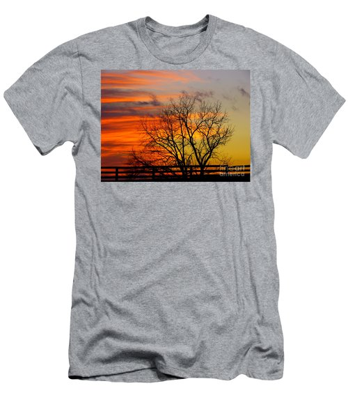 Painted By The Sun Men's T-Shirt (Athletic Fit)