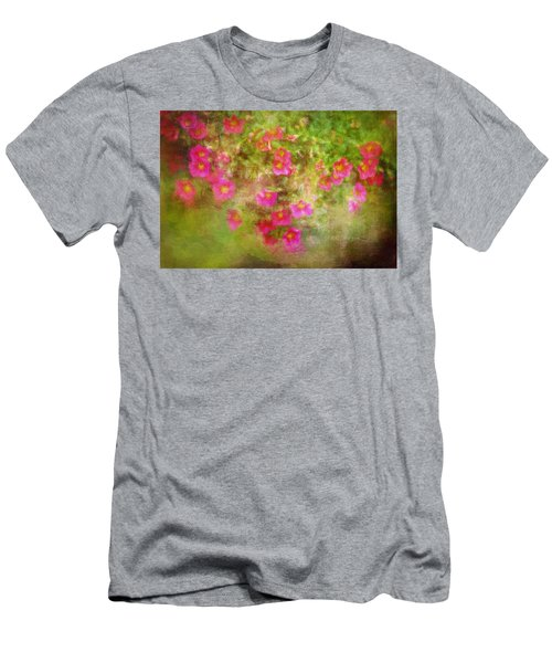 Painted Flowers Men's T-Shirt (Athletic Fit)