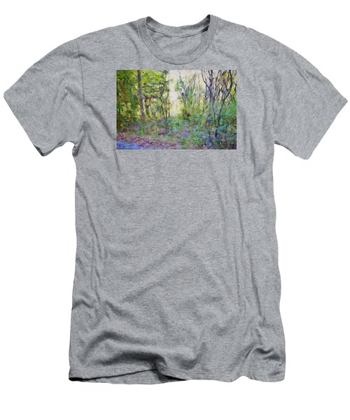 Painted Forrest Men's T-Shirt (Slim Fit) by Rena Trepanier