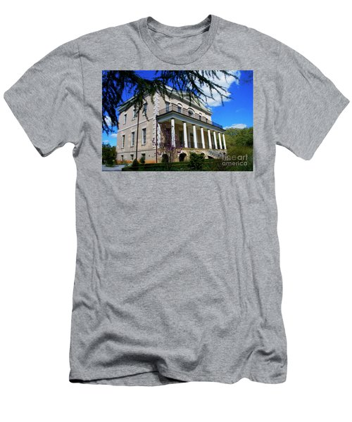 Painted Hampton Preston House Sc Men's T-Shirt (Athletic Fit)
