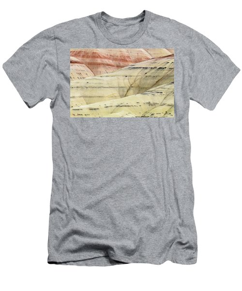 Men's T-Shirt (Slim Fit) featuring the photograph Painted Hills Ridge by Greg Nyquist