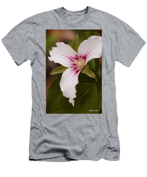 Painted Trillium II Men's T-Shirt (Athletic Fit)