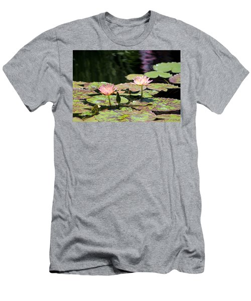 Painted Waters - Lilypond Men's T-Shirt (Athletic Fit)