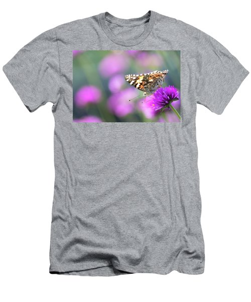 Men's T-Shirt (Athletic Fit) featuring the photograph Painterly Painted Lady 2 by Brian Hale