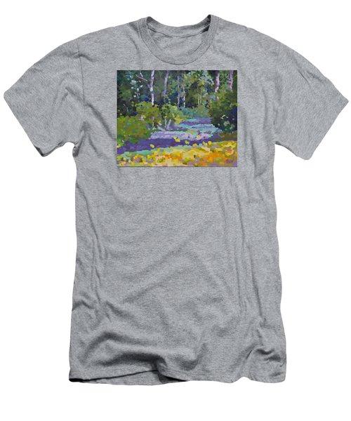 Painting Pixie Forest Men's T-Shirt (Slim Fit) by Chris Hobel